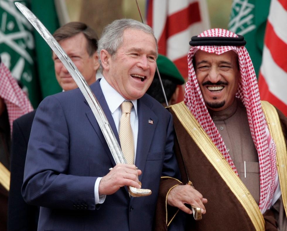 George Bush, Salman
