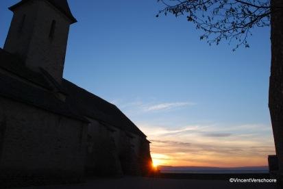 Eglise de Bray, juste avant la disparition