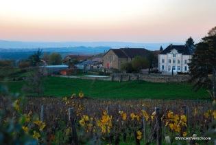 Vue du hameau de Toury