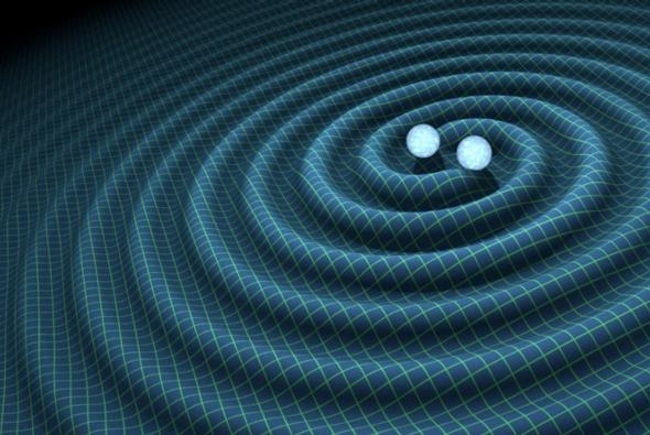 Ondes gravitationnelles, le son del'espace