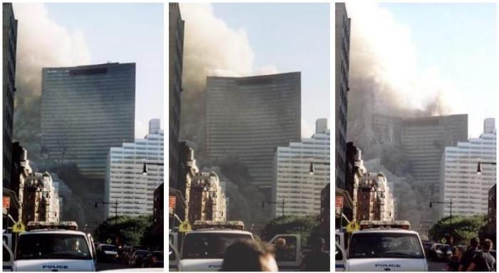 15 ans après: de la physique des gratte-ciels à celle du désastrepolitique.
