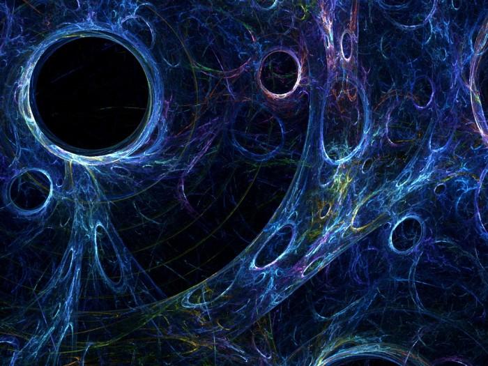 La matière noire, simple particule exotique ou nouvelunivers?