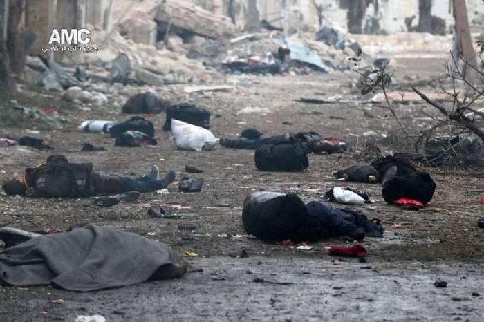 Alep selon l'ONU: Syrien nebouge.